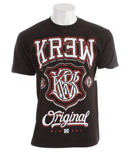 KR3W Champ 2 Regular T-Shirt Black