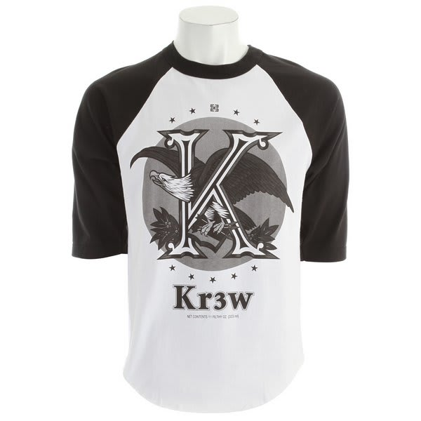 KR3W Cold One 3/4 Reglan T-Shirt