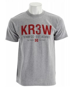 KR3W Denim Co 2 Regular T-Shirt Athletic
