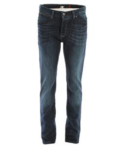 KR3W K Slim Jeans Aged Blue