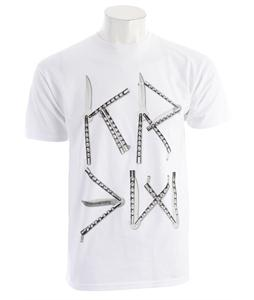 KR3W Knives Regular T-Shirt White