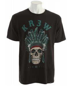KR3W Komanche Regular T-Shirt Black