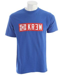 KR3W Lock-Up Regular T-Shirt Royal