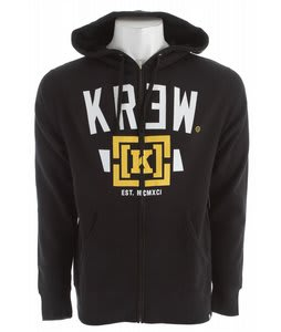 KR3W Lock Up Hoodie Black