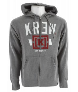 KR3W Lock Up Hoodie Gunmetal