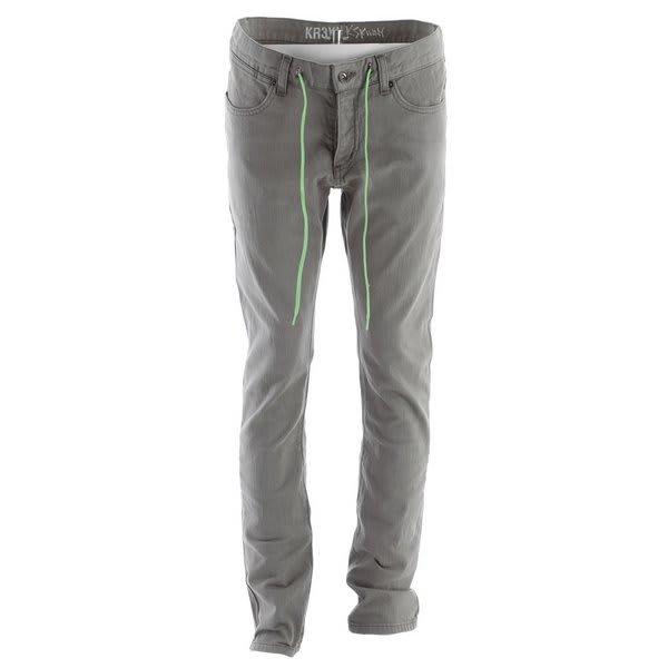 KR3W K Skinny Lizard King Jeans