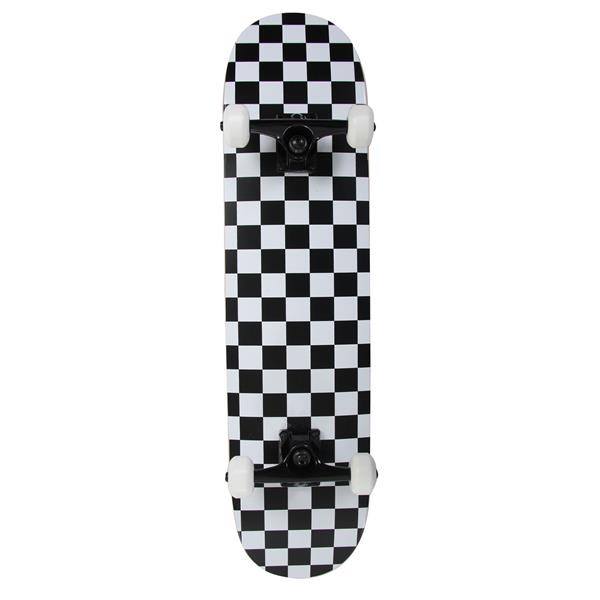 Krown Checkered Skateboard Complete
