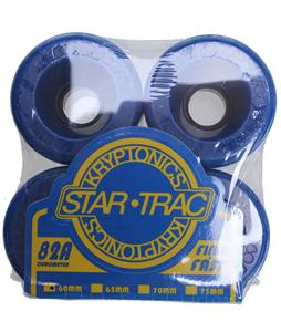 Kryptonics Star Trac Skateboard Wheels Blue 60mm