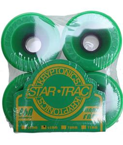 Kryptonics Star Trac Skateboard Wheels Green 65mm