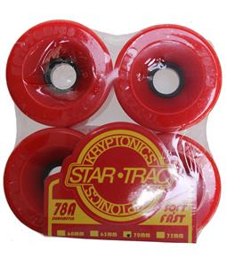 Kryptonics Star Trac Skateboard Wheels Red 70mm