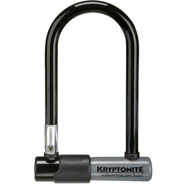 Kryptonite Kryptolok Series 2 Mini-7 U-Lock 3.25X7In