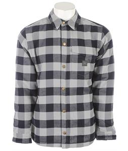 L1 Flannel Jacket Grey/Navy Check