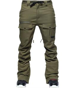L1 Skinny Cargo Snowboard Pants Military Stretch Twill