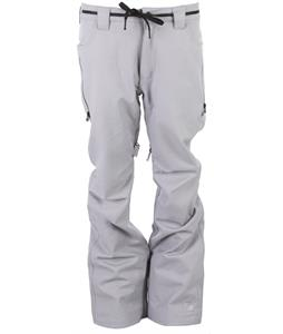 L1 Slim Chino Snowboard Pants Warm Grey Stretch Twill