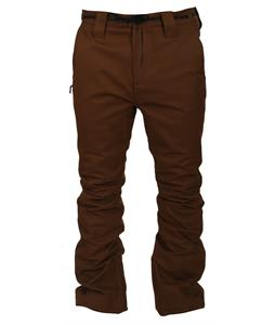 L1 Thunder Snowboard Pants Chocolate Stretch Twill