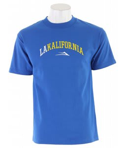 Lakai California T-Shirt Royal