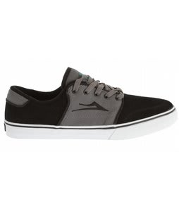 Lakai Carlo Skate Shoes Black/Grey Suede