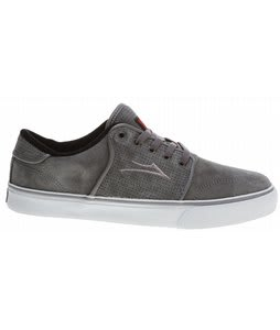 Lakai Carlo Skate Shoes Grey Suede