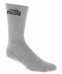 Lakai Gimme Socks Heather Grey
