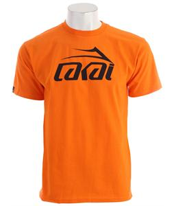 Lakai Logo T-Shirt Orange
