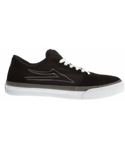 Lakai Manchester Select Skate Shoes Black Suede