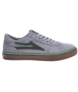 Lakai Manchester Skate Shoes Grey/Gum Suede