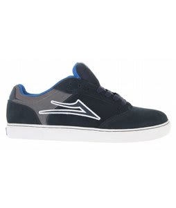 Lakai Mike Mo Skate Shoes Navy/Grey Suede