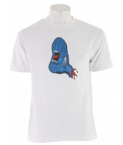 Lakai Screaming Foot T-Shirt White