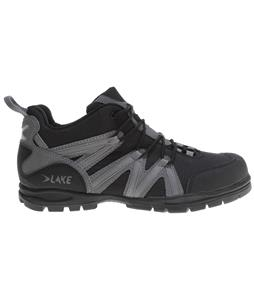 Lake MX100 Bike Shoes Black/Grey