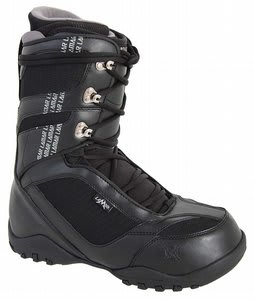 Lamar Justice 2 Snowboard Boots Black