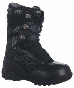 Lamar Justice Snowboard Boots Black