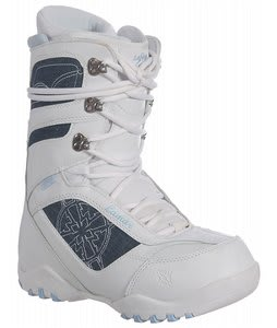 Lamar Justice Snowboard Boots White/Denim