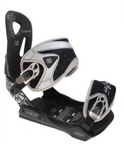 Lamar MX35 Silver Snowboard Bindings