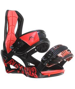 Lamar Wrap Snowboard Bindings Black