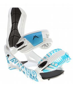 Lamar Wrap Snowboard Bindings White
