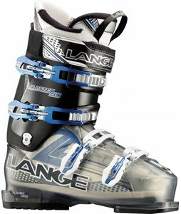 Lange Blaster 80 Ski Boots Translucent Grey/Black