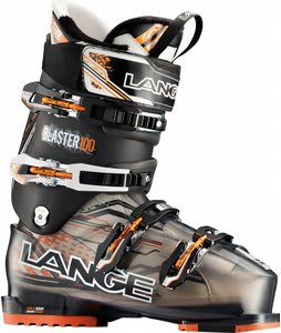 Lange Blaster Pro Ski Boots Translucent Black/Black