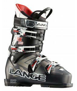 Lange RX 100 Ski Boots Translucent Black/Black