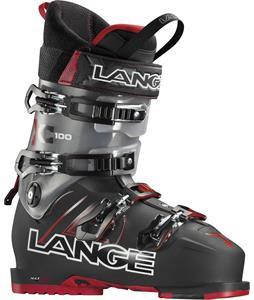 Lange XC 100 Ski Boots Black/Red
