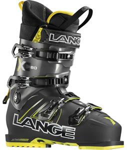 Lange XC 80 Ski Boots Black/Yellow