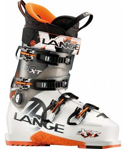Lange XT 100 Ski Boots White/Translucent Black