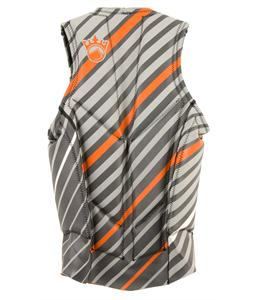 Liquid Force Cardigan Comp Wakeboard Vest Silver/Orange