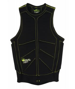 Liquid Force Gardigan Wakeboard Comp Vest Black/Green