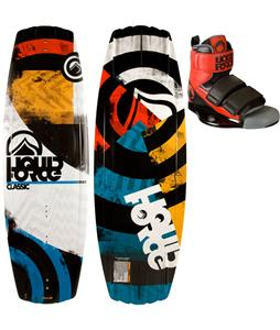 Liquid Force Classic Wakeboard w/ Domain Bindings