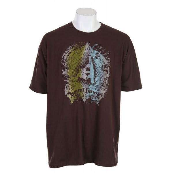 Liquid Force Curley Rail Grab T-Shirt