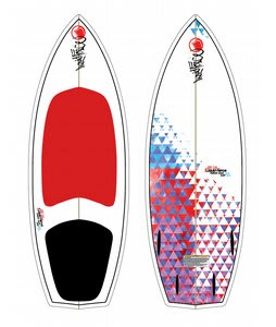 Liquid Force Custom Quad Wakesurfer 4ft 8in