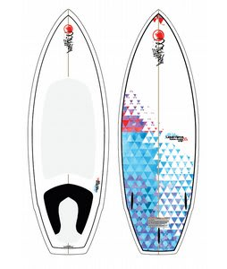 Liquid Force Custom Thruster Wakesurfer 4ft 10in