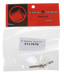 Liquid Force Fin Screw Pack 10-24 (2 Pack) Wakeboard Fins 3/4