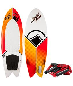 Liquid Force Fish w/ Handle Wakesurfer 5ft 3in
