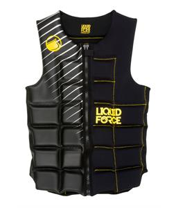 Liquid Force Flex Comp Wakeboard Vest Black/Yellow